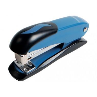 Степлер №24 / 6, 26/6 Economix, до 20 л., металевий корпус, синій E40238