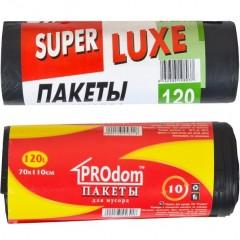 Пакет для сміття 70х110 120л 10 штук Super Luxs/PACK/PROdom