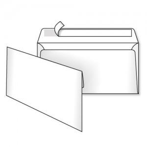 Конверт 220*110, белый, СКЛ, 0 0, кл. прямой
