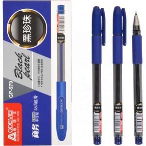 "Ручка гелевая 979 ""Black pearl"" синяя"