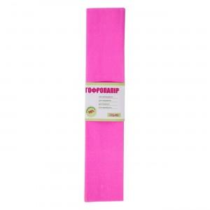 Папір гофрована 1вересня рожева 110% (50см * 200см)