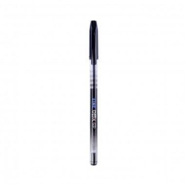 Ручка кульк/масл Offix чорна 1,0 мм LINC