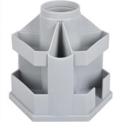 Підставка настільна В61 Economix, обертається на 360 °, пластик, сірий