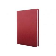 Ежедневник недатированный, SAHARA, темно-красный, А5