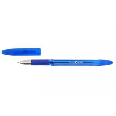 Ручка масляна OPTIMA OIL PRO 0,5 мм, пише синім