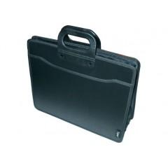 Портфель пластиковий В4+ на 3 відділення, Optima