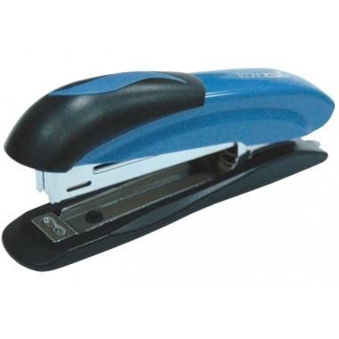 Степлер №10 Economix, до 16 л., пластиковый корпус, синий E40237