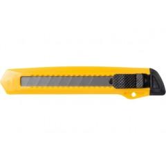 Нож канцелярский 18 мм, пласт. корпус