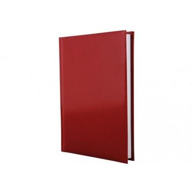Ежедневник недатированный, FLASH, красный, А5, клетка