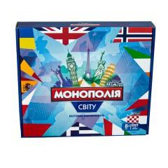 Гра LUX 7007 (укр) Монополія світу, в коробці 34см-28,8см-5,2см