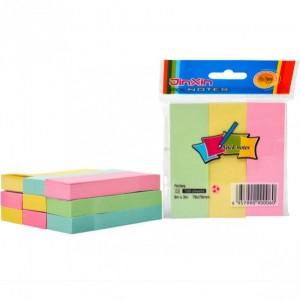 """Бумага для заметок """"стик"""" 3*3 цветной 100 листов"""