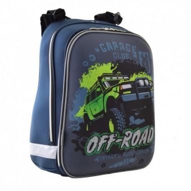 Рюкзак шкільний каркасний 1 Вересня H-12 Off-road, 38*29*15