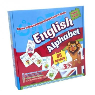 Пазли 539 (eng.) Стратег, English alphabet, в коробці 25-25-5см