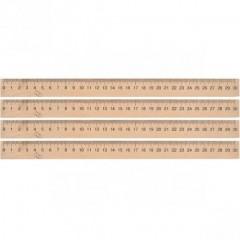 Лінійка 30 см, дерев'яна