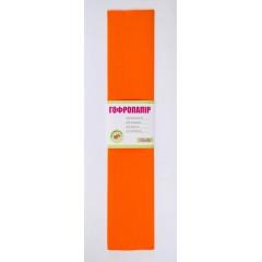 Папір гофр. оранж. 55% (50см*200см)