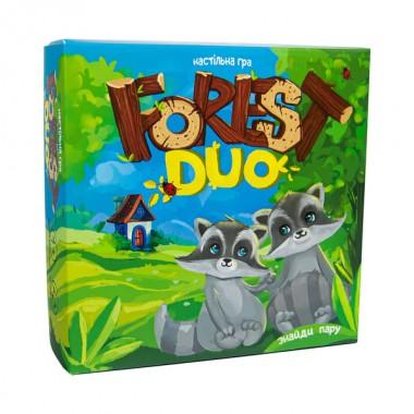 Настільна гра 30867 (укр) Forest Duo, в коробці 19,5-19,5-4,5 см