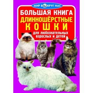 Велика книга. Довгошерсті кішки (9789669360267)