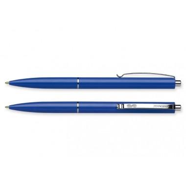Ручка кулькова автомат. SCHNEIDER К15 0,7 мм. корпус синій, пише синім