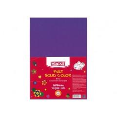 Фетр листовий (поліестер) 20х30см 180г / м2 фіолетовий