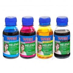 Комплект чорнил WWM HELENA для HP водорозчинне 4х100г B/C/M/Y (HELENA.SET-2)