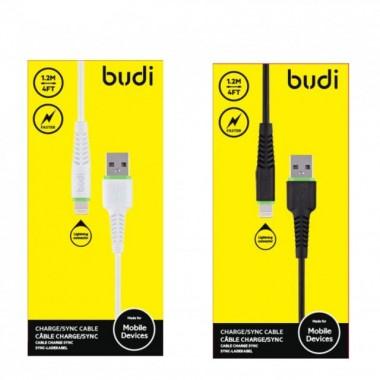 кабель передачи данных Budi micro-usb черный