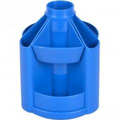 Подставка настольная В23, вращается на 360 °, пластик, синяя