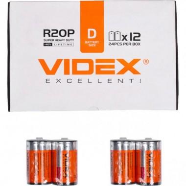 Батарейка Videx R 2O P/D 2 pcs SHRINK