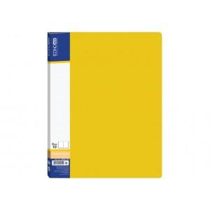 Папка А4 с 20 файлами Economix, желтая E30602-05