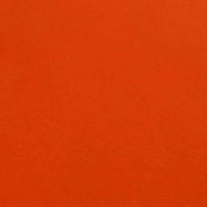 Фетр жесткий, оранжевый, 21*30см
