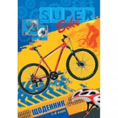 Щоденник для 1-4 класів Велоспорт Супер В5 40 арк Щ-10-3