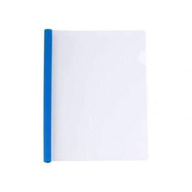 Папка А4 Economix с планкой-зажимом 6 мм (2-35 листов), синяя