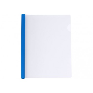 Папка А4 Economix с планкой-зажимом 15 мм (2-95аркушів), синяя