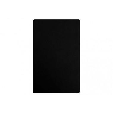 Деловой блокнот А5, Vivella, твердая обложка, белый нелінований блок, черный