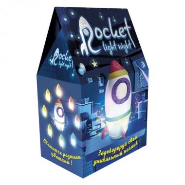 Набір для творчості 30709 (укр) Rocket light night, в коробці 19,7-12-8см