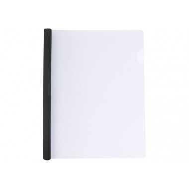 Папка А4 Economix з планкою-затиском 15 мм (2-95аркушів), чорна