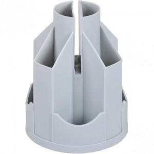 Підставка настільна В21, обертається на 360 °, пластик, сірий