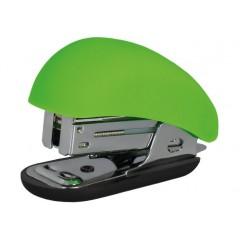 Степлер №24 / 6, 26/6 мини Optima, до 12 л, Soft Touch, пласт. корпус, салатовый O40263-13