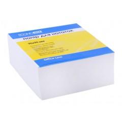 Папір для нотаток 90х90 мм Economix, 500 л., Проклеєний, білий E20997