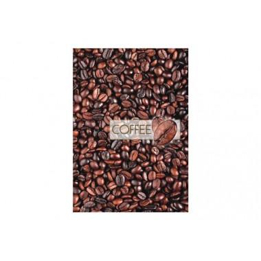 """Блокнот """"Рисунки природы"""", А4, твердая обложка, 96 л., Линия, """"кофе"""""""