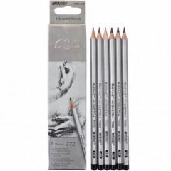 Олівець простий 7000/6 HB-8B MARCO