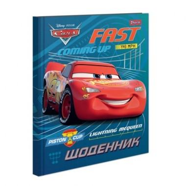 Щоденник шкільний жорсткий (укр.) Cars