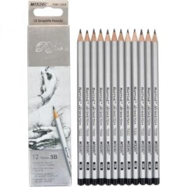 Олівець простий 7000 / 12-3В MARCO