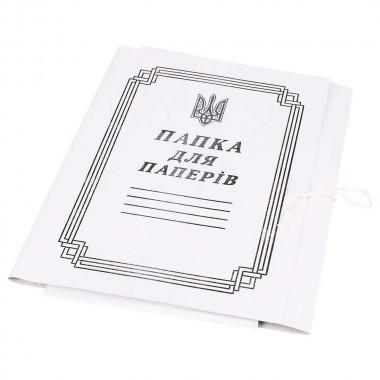 Папка для бумаг на завязках