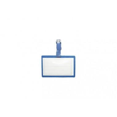 Бейдж горизонтальный с зажимом Economix, 90х55 мм E41402