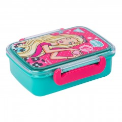 Контейнер для їжі YES Barbie, 420мл, з роздільником