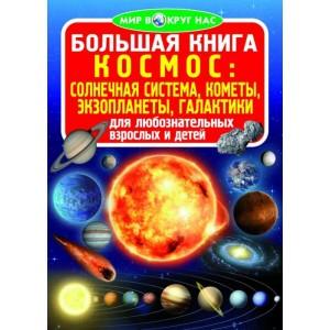 Велика книга. Космос: сонячна система, комети, екзопланети, галактики (9789669360571)