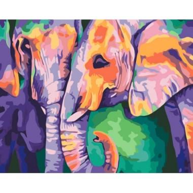 Картина по номерам Идейка индийские краски 40х50 см кисти + краски в комплекте