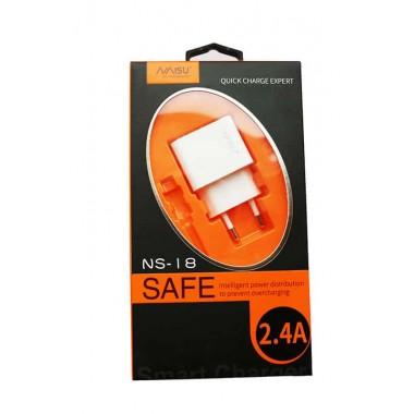 Зарядное устройство 2,4 ампера Naisu ns-18