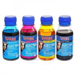 Комплект чорнил WWM ELECTRA для Epson водорозчинне 4х100г B/C/M/Y (ELECTR.SET42)