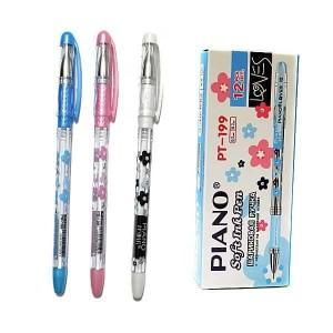 Ручка кулькова Piano Loves PT-199 синя